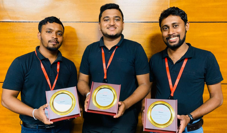 Winners of National Sales Competition – AIBL