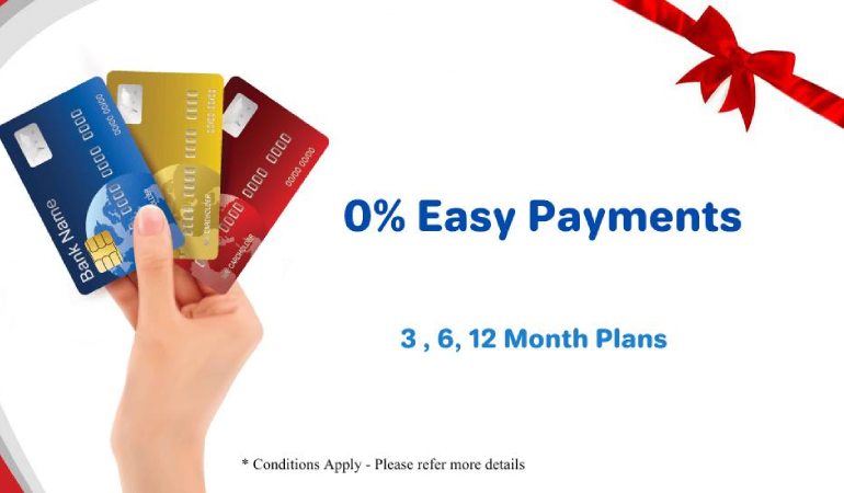Buy / Pay online and enjoy interest free monthly installment plans